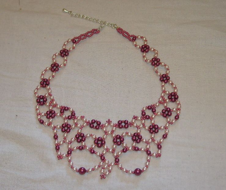 Schémas De Colliers En Perles Gratuits : Les perles de xtina